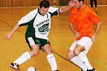 Futsalista Kvasaca Vacenovice (vlevo).