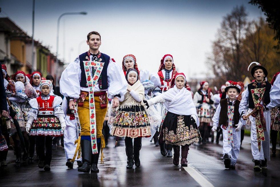 Kyjované oslaví tradiční krojované hody.