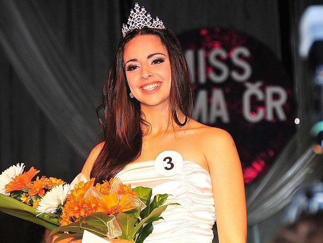 Slavnostní vyhlášení Miss Roma 2011 v Hodoníně.