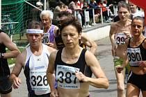 Ženám kralovaly v Moravském Písku veteránky. Z vítězství se radovala Miroslava Hanáková (číslo 387), druhá byla Marta Durnová a třetí skončila Zuzana Stoličná.