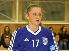Devatenáctiletá házenkářka Kristýna Pastorková (na snímku) se s reprezentací Slovenska zúčastnila turnaje čtyř zemí v Brazílii.