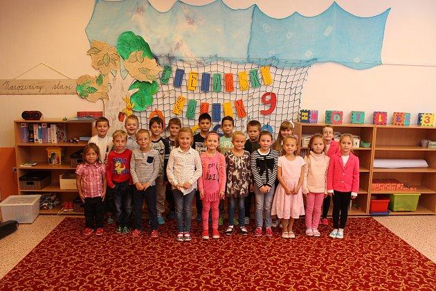 Žáci 1.C ze Základní školy vDubňanech.