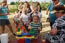 Na dětské dni nechyběly soutěže a atrakce pro děti. Bavili se však i dospělý.