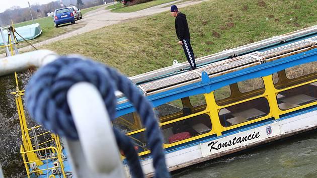 Městská loď Konstancie.