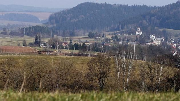 Vesnice, ilustrační foto