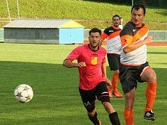Fotbalisté Kyjova na jaře prohráli i druhý soutěžní duel. Po Ratíškovicích nestačili svěřenci trenéra Čady ani na vedoucí Krumvíř.
