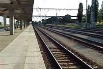 Rekontruované nádraží v Hodoníně.