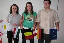 Veselští studentni po návratu ze Štrasburku