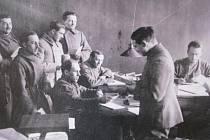 Výstava Šlechta ve službách Masarykovy republiky.