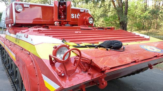 U požáru v Bzenci zasahovalo už tisíc hasičů z Česka i Slovenska.