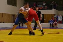 Družstvo zápasníků pořádajícího Sokola Hodonín vybojovalo na domácí Velké ceně v soutěži družstev stříbrný pohár.
