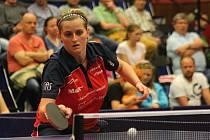 Stolní tenistka Lenka Harabaszová (na snímku) po čtyřech letech v Hodoníně skončila. Jde hrát do Německa.