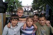 Mladá rocková kapela Šroti