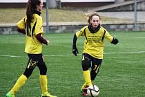 Fotbalistky druholigového Nesytu Hodonín prohrály v Olomouci po mizerném výkonu 0:3 a v tabulce zůstaly poslední.