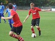 Hodonínští fotbalisté zvítězili nad 1.HFK Olomouc 6:1.