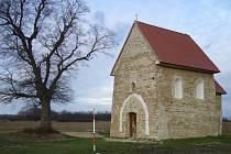 Kopčanský kostelík sv. Margity Antiochijskej z druhé poloviny 9. století.