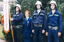 Marie Matyášová se strážnickými kolegy