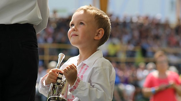 V Ratíškovicích se konal jubilejní 50. ročník mezinárodního festivalu dechových hudeb.