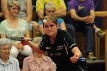 Hodonínská dvojka Lenka Harabaszová překvapivě prohrála ve třetím finále s Anetou Kučerovou.