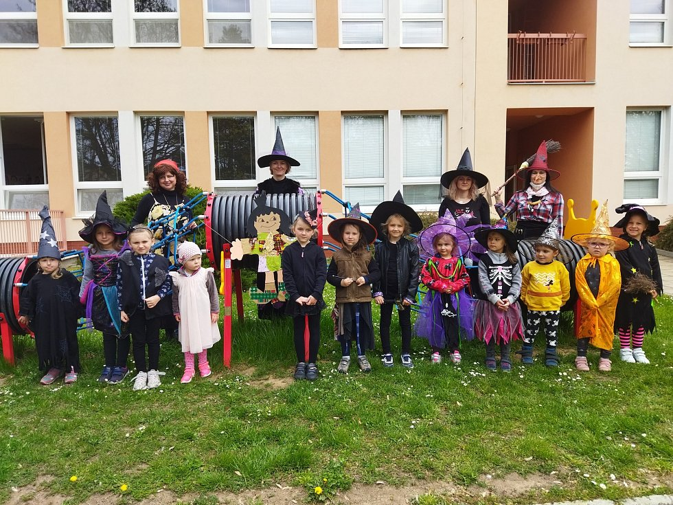 Děti si užily den plný her a zábavy.