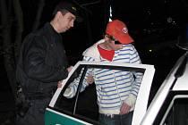 Policejní razie v hodonínských podnicích.