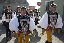 Povolení hodů a zvaní na hody v Bukovanech.