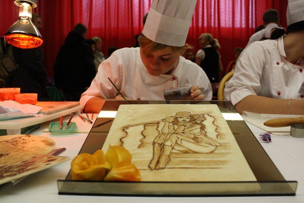 Bzenecký Gastroden: studenti předvedli, že jídlo může být i umění.