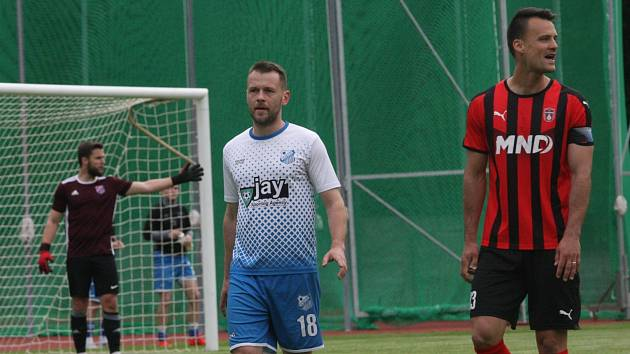 Martin Holek (vpravo) je velkou posilou pro hodonínskou ofenzivu.
