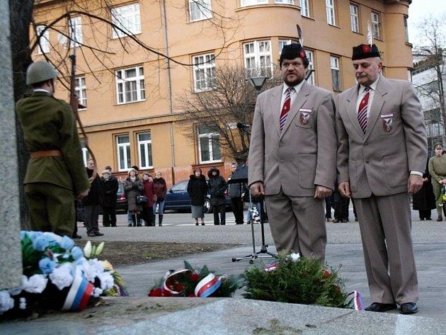 Oslavy výročí narození Tomáše G. Masaryka v Hodoníně.
