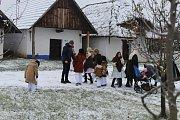 Ve strážnickém skanzenu připomněli vánoční zvyky předků