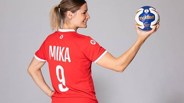 Zkušená reprezentační házenkářka Kristýna Mika současnou situaci stále vstřebává. Foto: www.reprezentace.chf.cz