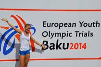 Hodonínská sprinterka Veronika Paličková.