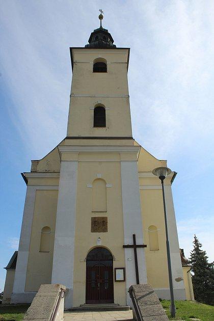 Kostel svatého Jakuba vJežově.