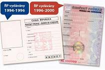 Výměna řidičských průkazů