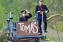 Výročí vlečky Tomáš