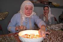 Předváděcí akce tradičních řemesel v hodonínském sále Evropa.