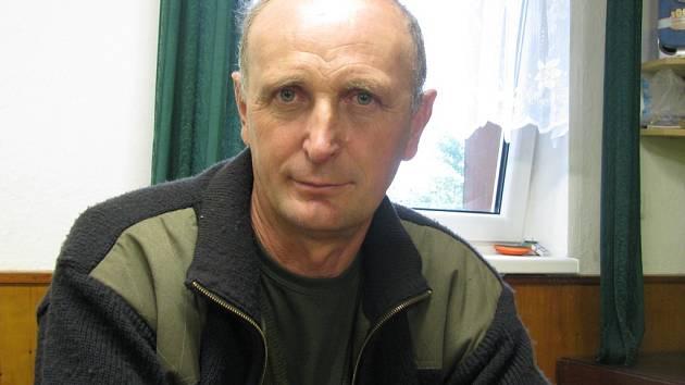 Ratíškovický chovatel jezevčíků František Bábík.