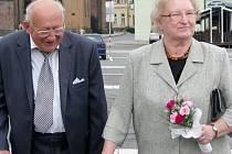 Drahomíra a Jan Solichovi mají za sebou diamantovou svatbu, tedy šedesát let ve svazku manželském.
