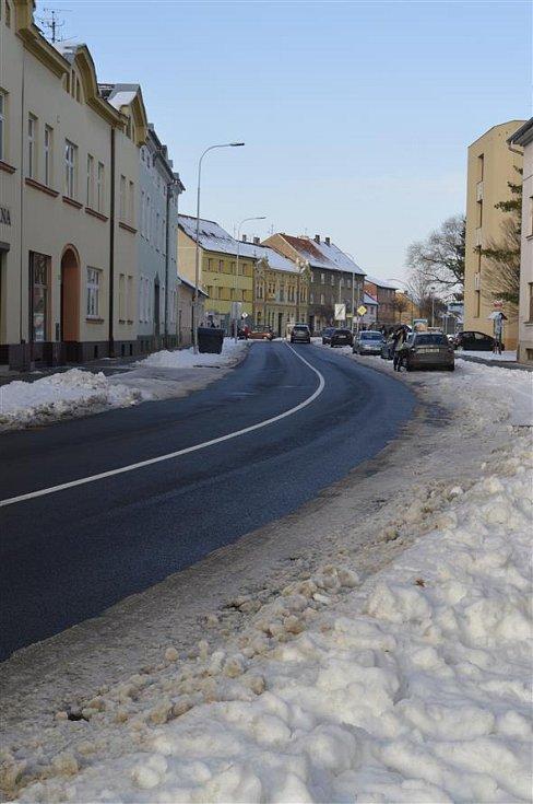 Ulice Dobrovského.