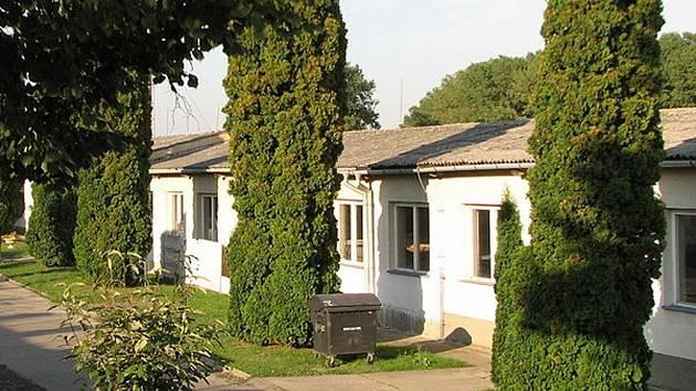 Bývalý internační tábor ve Svatobořicích - Mistříně.