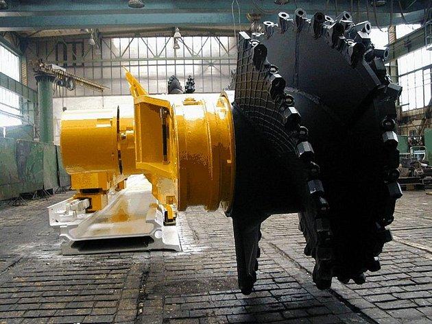 Těžební stroj. Ilustrační foto