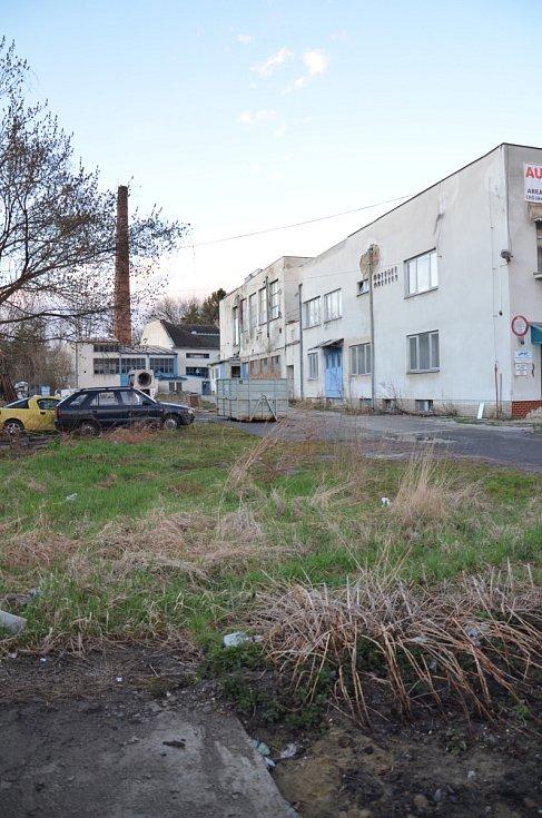 Kyjov – objekt bývalé mlékárny.