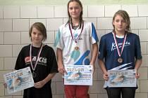 Hodonínská plavkyně Lucie Zubalíková potvrdila na zimním Poháru České republiky jedenáctiletého žactva roli velké favoritky, když se stala nejúspěšnější plavkyní kvalitně obsazeného klání.