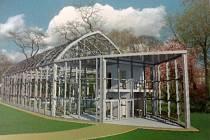 Tak vypadá podoba nového skleníku podle vytvořené studie. Do něj by se v budoucnu mohla přestěhovat vzácná sbírka exotických rostlin, která se doposud ukrývá v polorozpadlém skleníku v areálu hodonínské nemocnice.