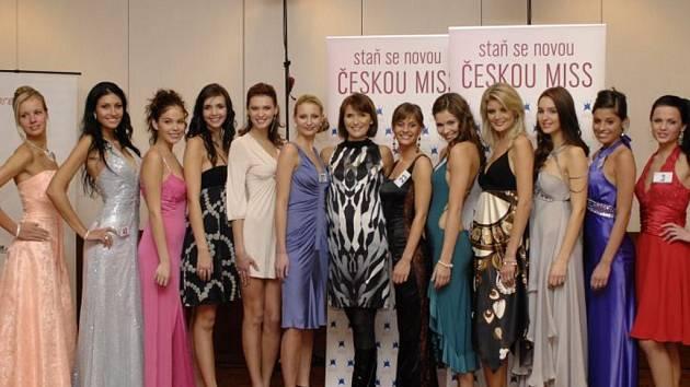 Finalistky České miss 2009
