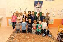Žáci 1.A ze Základní školy v Dubňanech.
