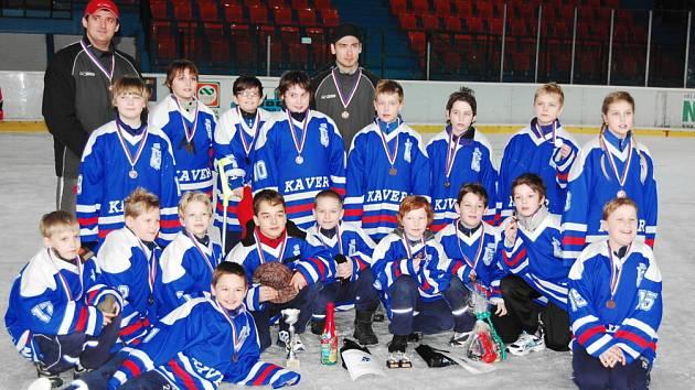 Hodonínští hokejoví čtvrťáci