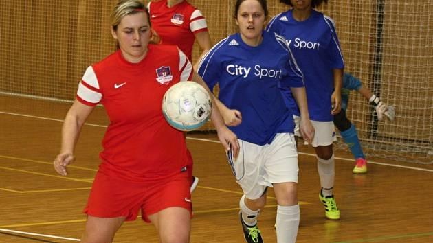 Hodonínské futsalistky. Ilustrační foto
