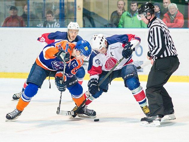 I přes výhru se Drtiči v duelu s houževnatou Kopřivnicí trápili. O vítězi třiadvacátého kola druhé hokejové ligy rozhodlo až závěrečných třináct minut utkání.