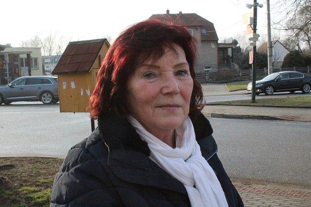 Ludmila Teichlová, 66let, důchodkyně